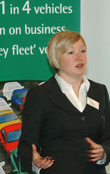 Corinne Harrison from Arval on the risks of the grey fleet