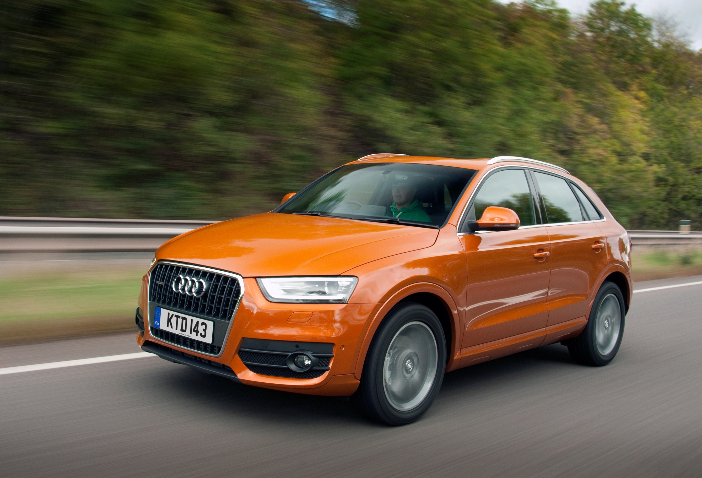 Audi S Q3 Rated Top For Compact Suv Safety Business Car