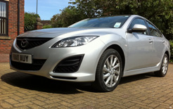 Mazda6 2.2D Business Line 129PS 5dr business car road test report