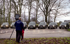 Gillman and Soame photographic firm uses Isuzu Rodeo pick-ups on location