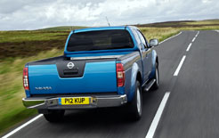 Pick-ups are governed by the same speed limits as apply to commercial vehicles