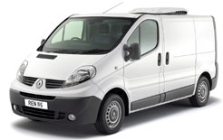 New Renault Trafic Refrigerated Van benfits from three-year/100,000 mile warranty