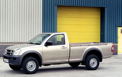 Isuzu is due to launch a standard cab utility Rodeo Denver