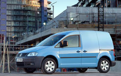 VW Caddy will be used by Zipcar to provide vans by the hour