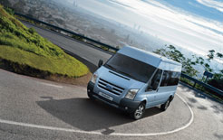 Ford Transit minibus - special deal on Ford School Bus programme