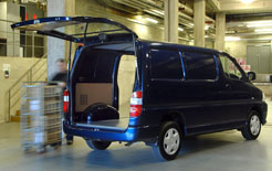 Small business van delivery in London - such vans will not now be hit by the 2010 planned introduction of the LEZ Phase 3