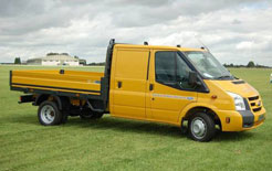 New Ford Transit Chassis Double Cab Utility