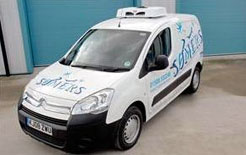 Somers temperature-controlled Berlingo