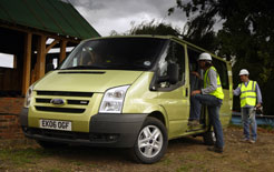 Builders and Ford Transit van