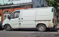 Rusty old Ford Transit will qualify for scrappage grant