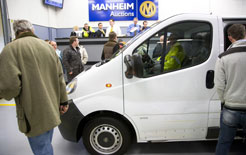 09f7801427 Auction company Manheim reports stronger used values. Used van prices are  continuing ...