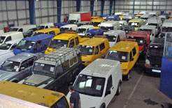Vans going into Manheim Auction will now have a Van Check