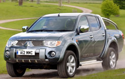 Revised Mitsubishi L200 pick-up range qualifies for emissions-based London Congestion Charge