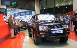 Mitsubishi L200 double-cab at BCA auction