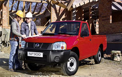 new Nissan NP300 pick-up