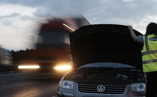 Advice for business drivers who have broken down on the motorway