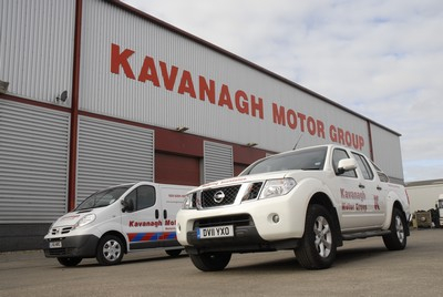 Fleet Alliance's new Fleet Insurance product allows SME fleets to mix and match the vehicles under the fleet policy, such as the Navara double cab and Nissan Primastar pictured here