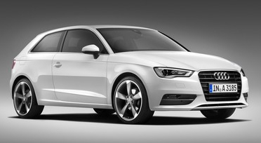 New third-generation Audi A3 launches at the Geneva Motor Show featuring a tax-busting diesel engine with 99g/km CO2 emissions and a company car tax band of 13%
