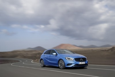 New Mercedes A-Class was launched at the Geneva Motor Show
