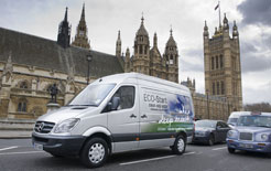 New Mercedes Sprinter with ECO-Start