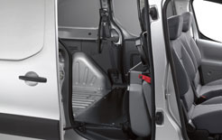 Peugeot Partner Crew Van with flexible rear seating