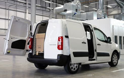 Peugeot Partner now offered in Professional specification