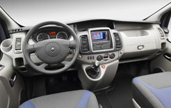 Renault Trafic Phase 3 interior