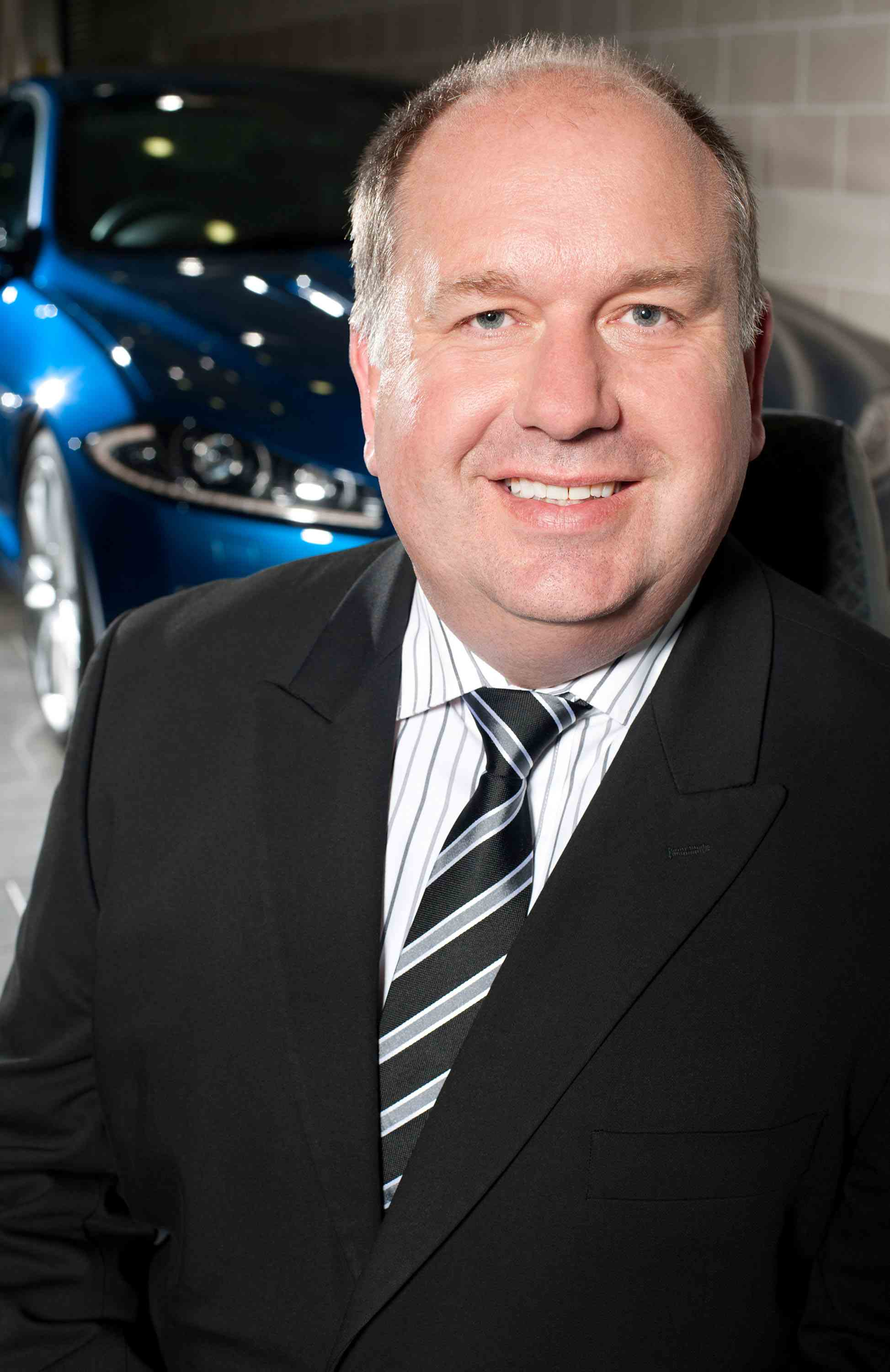 David Lewis, UK sales director at Jaguar