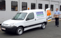 Specialist van dealer network