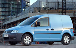 VW Caddy available on VW finance from £189 per month