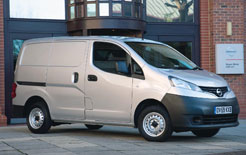 Nissan was voted manufacturer of the most secure vans in the latest Thatchm security awards