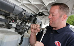 Mobile servicing engineer from SEV