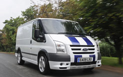 Ford Transit SportVan now in limited edition coloured red