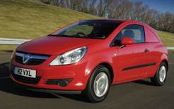 Vauxhall Corsavan now gets Start/Stop economy-boosting technology