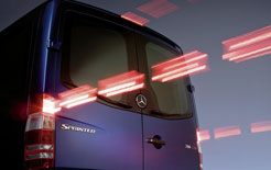 Mercedes Sprinter rear view
