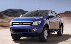 All-new Ford Ranger, made its debut at Sydney Motor Show, Australia