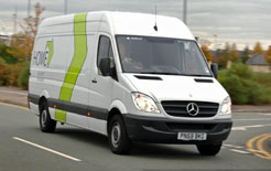 Mercedes Sprinter, winner of ACFO's Large Van of the Year
