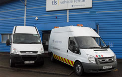 TLS daily van rental will cease trading at the end of 2010