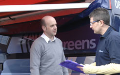 Business van operators and traders can now get their van's windscreen replaced at more convenient hours from Auto Windscreens