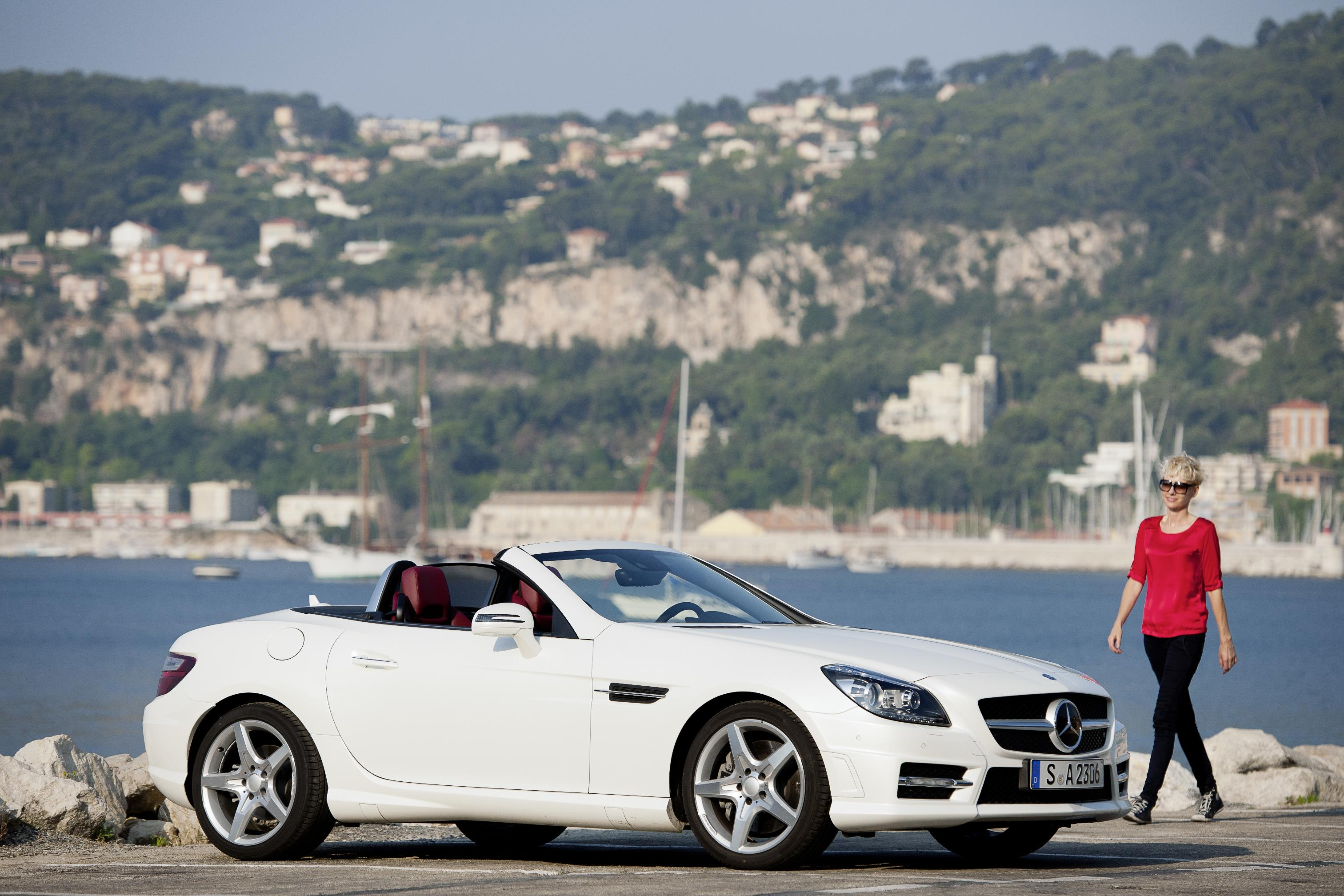 The new mercedes benz slk and residual values business for Mercedes benz residual value