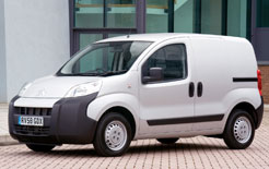 Citroen Nemo, along with Peugeot Bipper and Fiat Fiorino, voted International Van of the Year