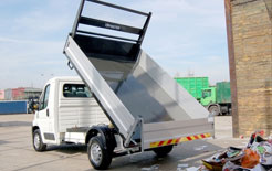 Tipmaster Relay tipper: part of Citroen Ready to Run programme for 2009