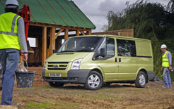 Ford Transit voted most reliable van in Fleet News FN50 survey