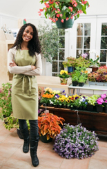 Small business flower trader
