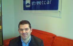 Andrew Valentine, co-founder of Streetcar and operator of Streetvan