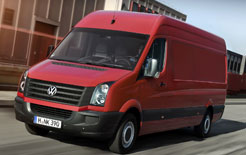 Facelifted Volkswagen Crafter