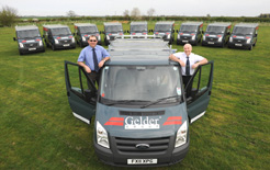 Building company the Gelder Group has just taken delivery of 10 Ford Transit ECOnetics as part of its policy to lower environmental emissions