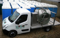 Portable toilet company, Toilets+, has invested in Quartix InfoPlus real-time vehicle tracking technology in order to cut the company's fuel bills