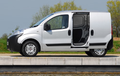 A finance holiday and low interest finance offer is available from Fiat Professional for London LEZ van operators - available on a range of Fiat vans including this Fiat Fiorino
