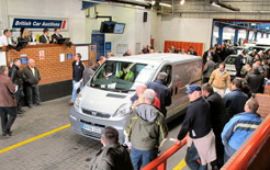 Small businesses and traders were active in the used van market in May, as used van values started to recover reports BCA Pulse